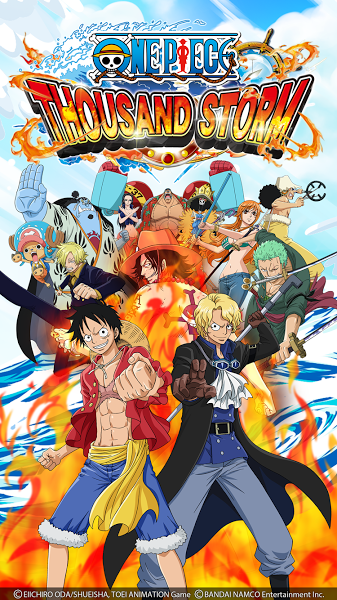 Pin On Download Android Games One Piece Thousand Storm V10 2 1 Mod