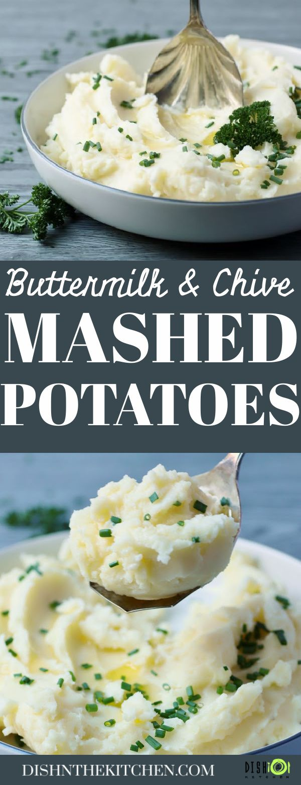 Simple Buttermilk Mashed Potatoes Dish N The Kitchen Recipe In 2020 Delicious Healthy Recipes Recipes Buttermilk Mashed Potatoes