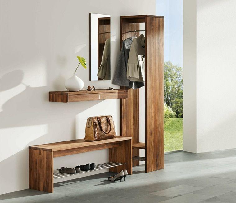 Le meuble à chaussure  idées de rangement moderne Dressing tables - Meuble Chaussure Avec Porte Manteau
