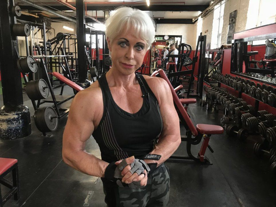 Super Strong Bodybuilding Gran Says Men Want To Be Dominated By Her Bodybuilding Men Dominant