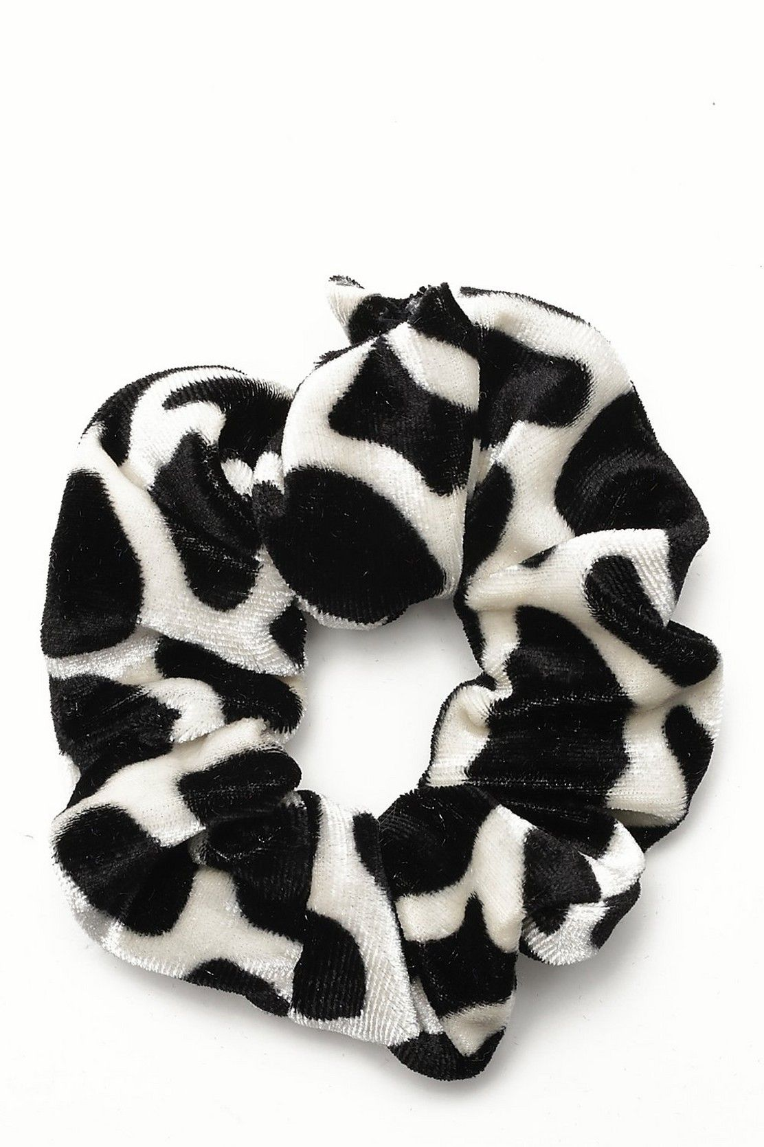 Cow Print Scrunchie | boohoo