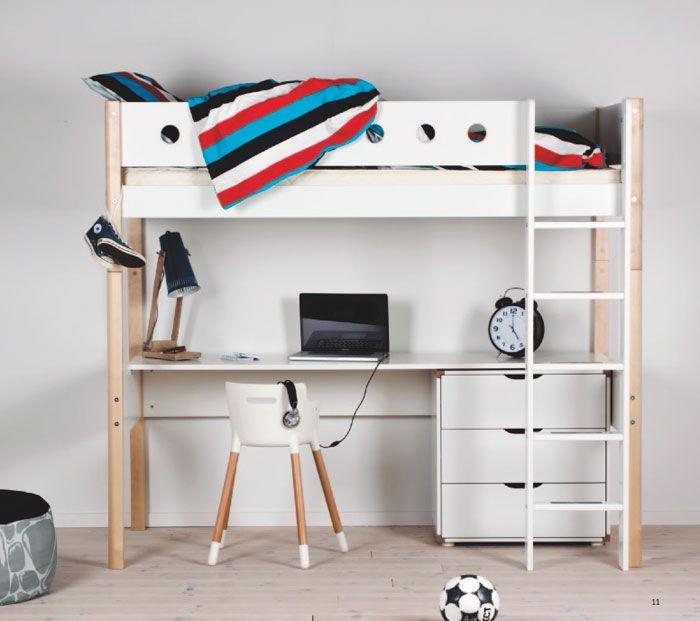 Modelos de camas litera con escritorio abajo buscar con google literas ideas pinterest - Cama con escritorio abajo ...