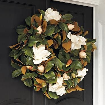 Awesome Front Door Decor: Thanksgiving Wreath Ideas