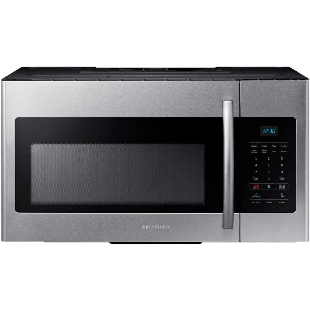 Samsung Under Cabinet Microwave Me16h702ses Range Microwave Stainless Steel Microwave Stainless Steel Oven
