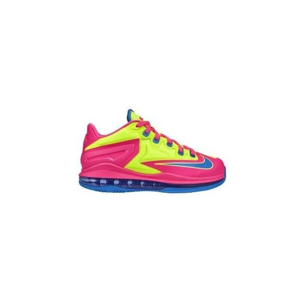 a9fa53a7912 Nike Air Max LeBron XI Low Boys  Grade School ( 50) ❤ liked on Polyvore  featuring nike