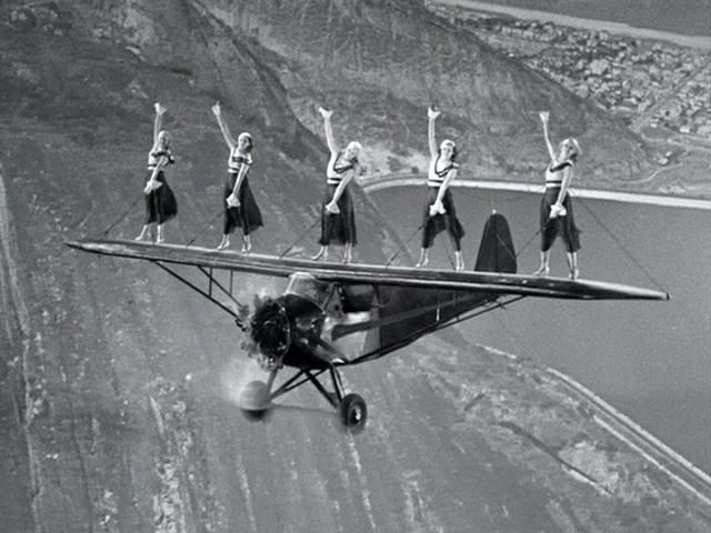 Wing dancing in Flying Down to Rio (1933)
