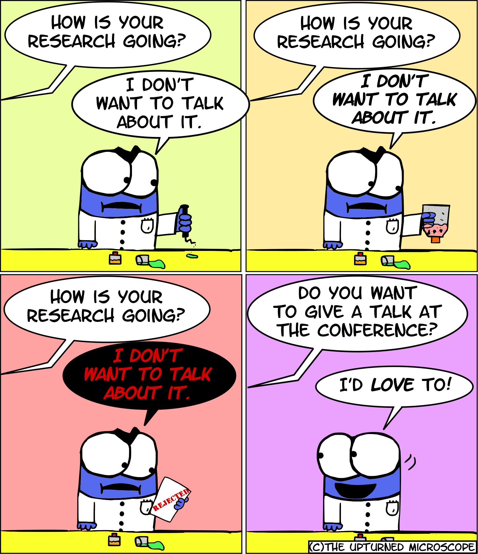 Follow The Upturned Microscope on Twitter and Facebook ...