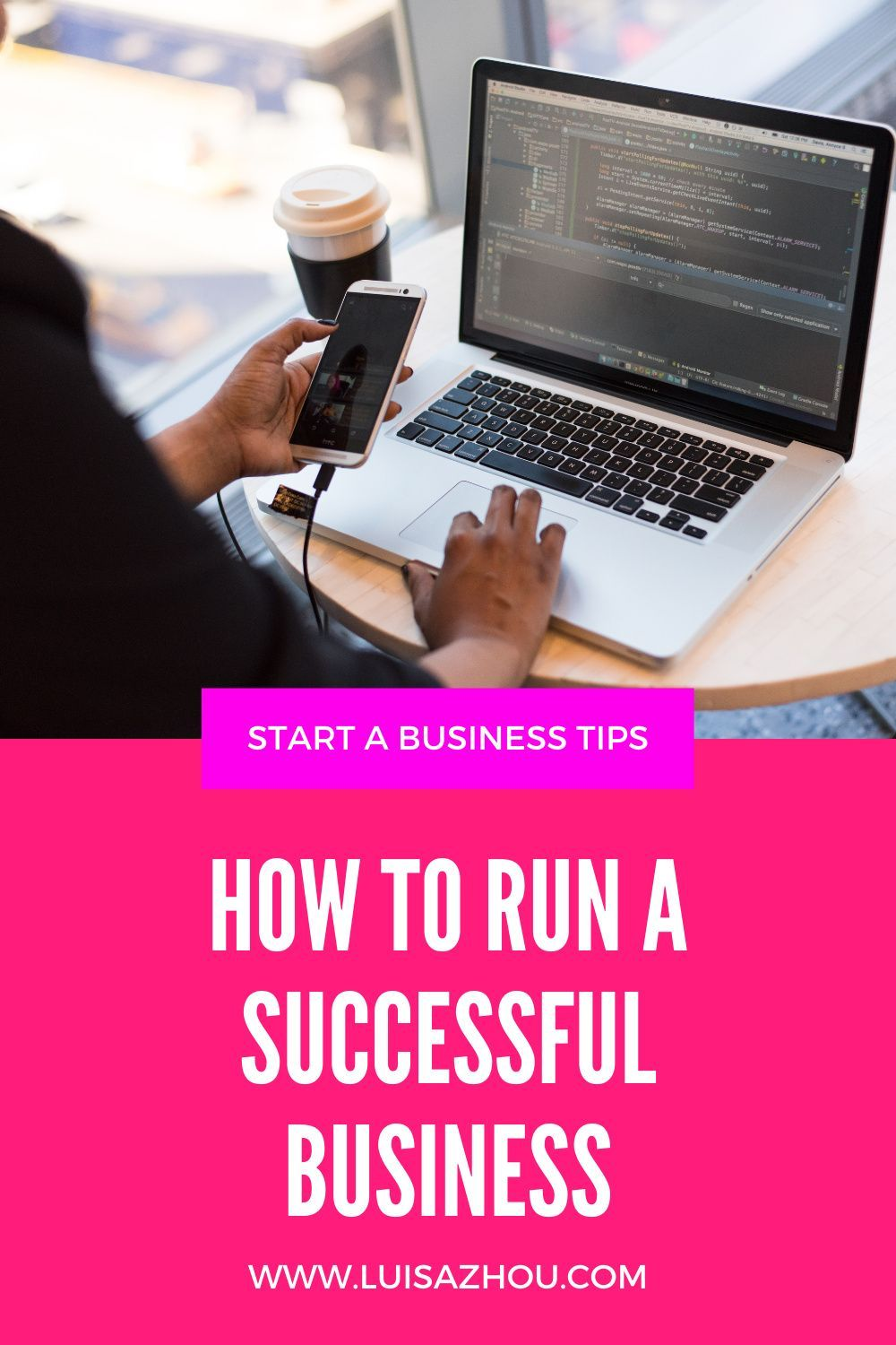 How do you run a successful business? Here's how to run a business as an entrepreneur and the 5 best run a business tips. #successfulbusiness #businesstips #runningabusiness