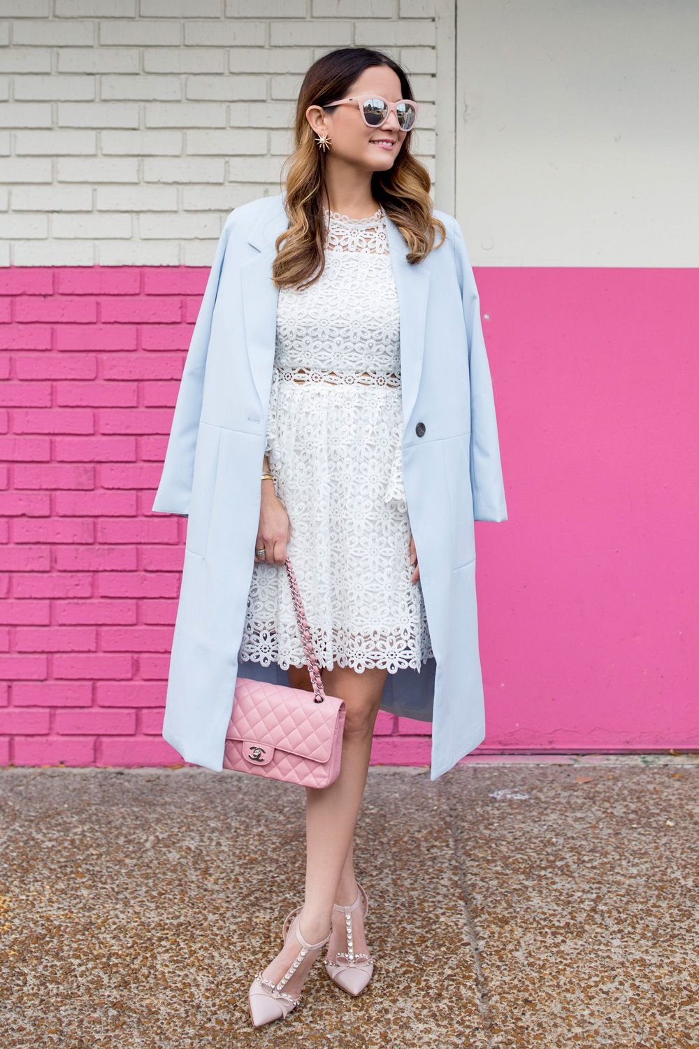 White lace bell sleeve dress fall outfit ideas bell sleeves and