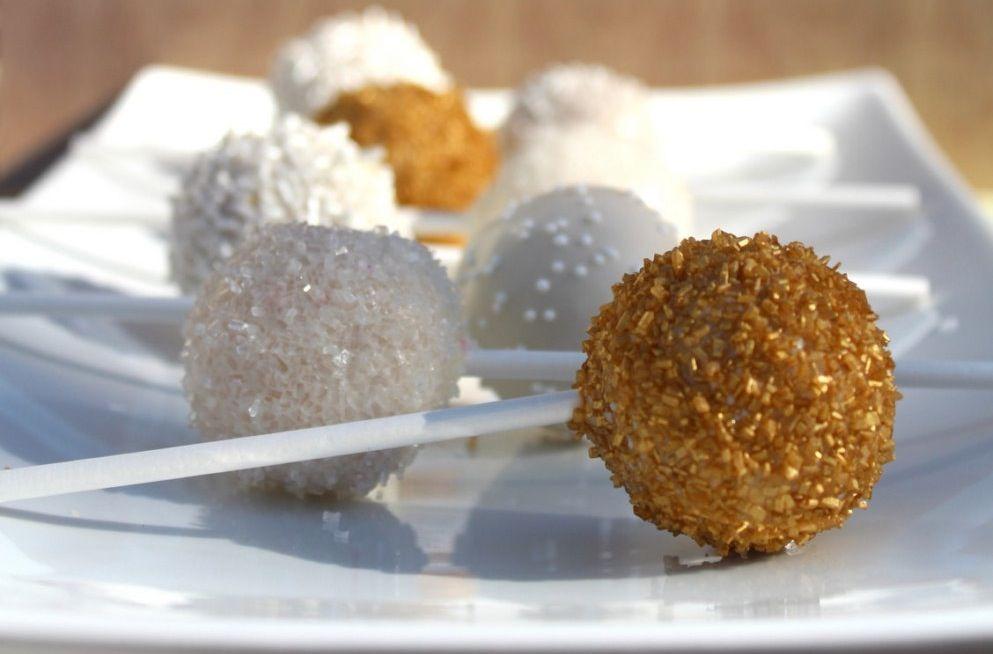 Glitter Cake Pops | white-gold-sparkle-wedding-cake-pops.original.jpg?1379287996