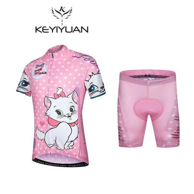 Hot 2017 KEYIYUAN Summer Children Cycling Jersey Padded Bike Clothing Road  Bicycle Sportswear Bike Jersey A variety of styles d1cddb107