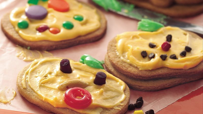 Jack-o\u0027-Lantern Cookies Recipe Halloween desserts, Pumpkin pie - halloween dessert ideas