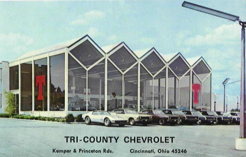 TriCounty Chevrolet Dealership, Cincinnati, Ohio