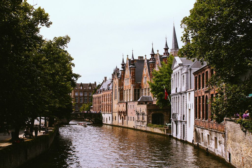 The Canal in Brugge