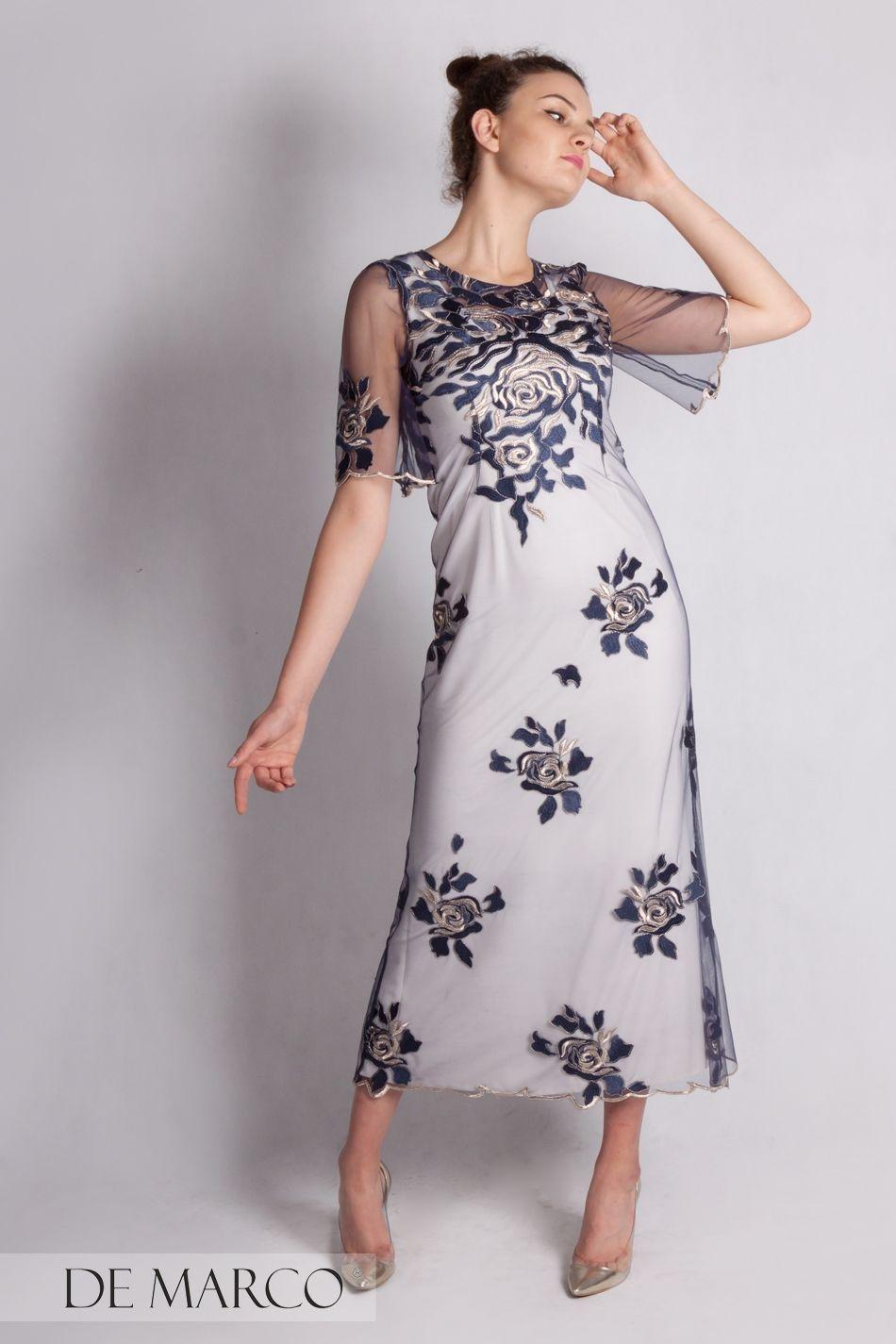 41bce76dfa Długa sukienka na bal dedykowana mamie wesela D szyta na miarę w De Marco  D