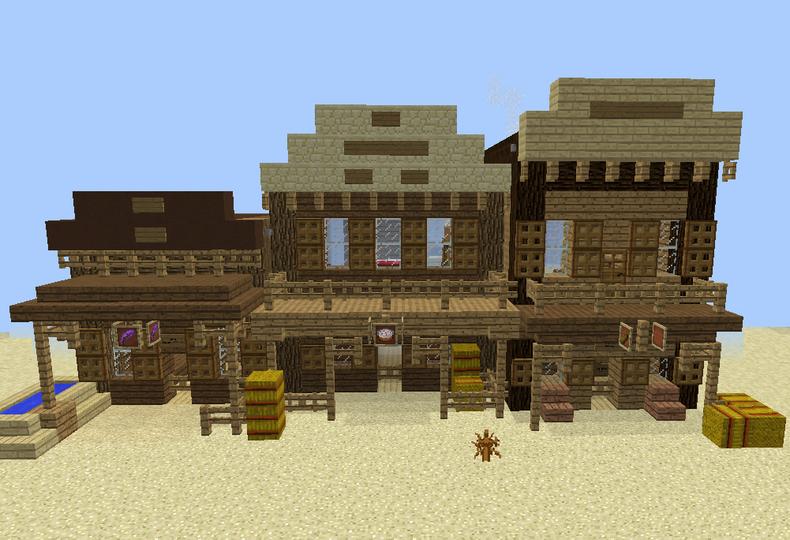 Wild West Shops GrabCraft Your Number One Source For MineCraft - Minecraft haus aus wasser bauen
