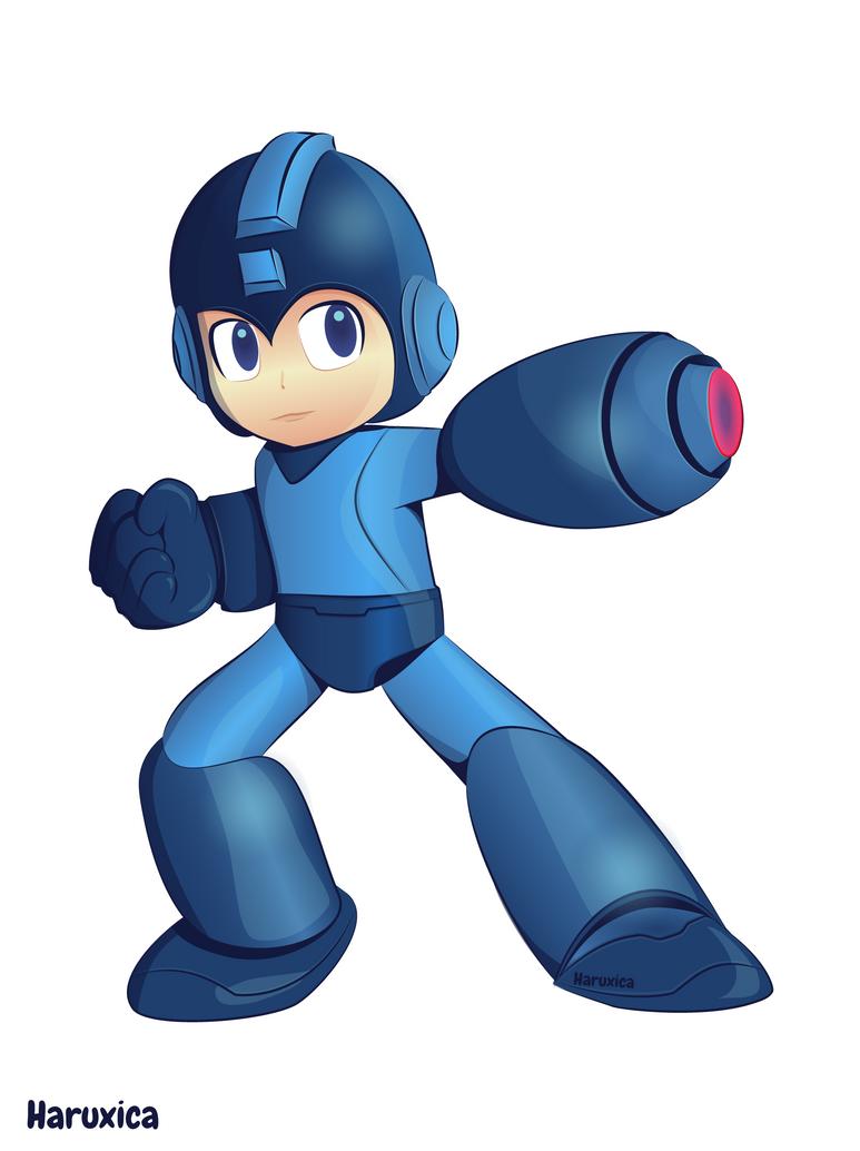 Mega Man By Haruxiqitita Mega Man Man Mario Characters