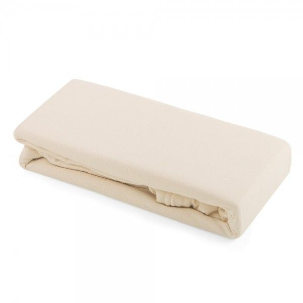 Cambrass Liso E S/ábana ajustable para cuna 60 x 120 cm color beige