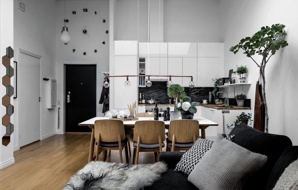 Appartamento open space con terrazza sul tetto   Building ideas and ...
