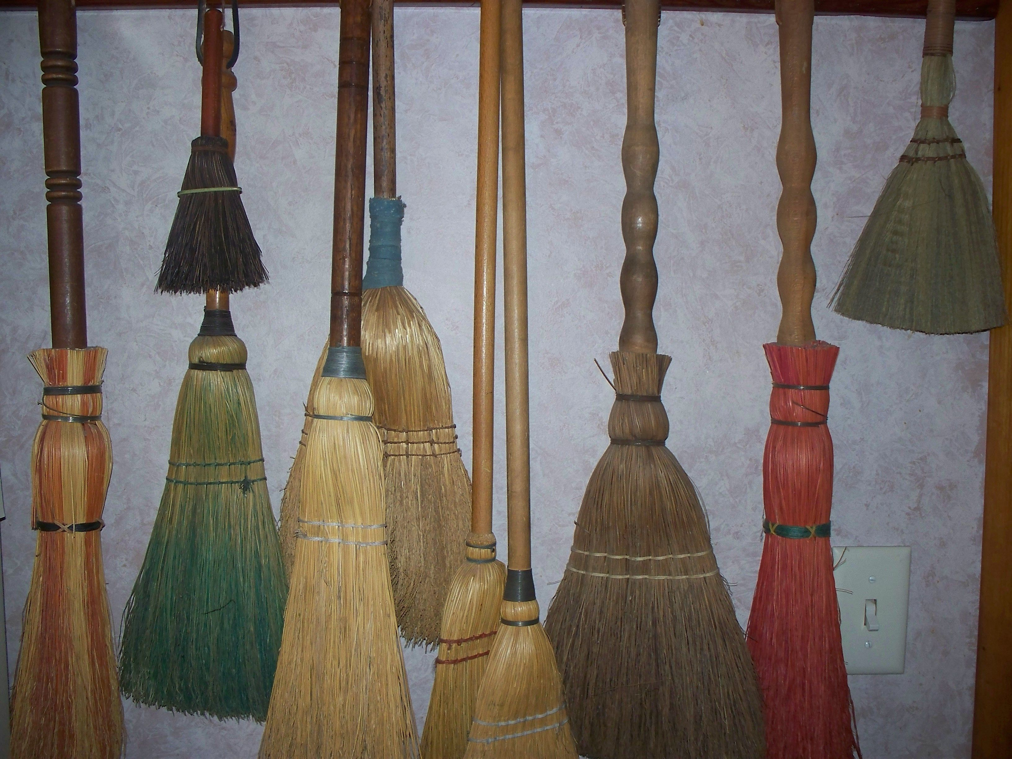 some of my brooms
