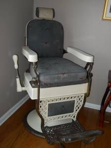 Local Antique Barber Chair Barber Chair Chair Barber