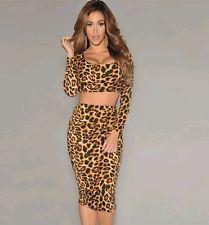 Vestido estampado tigre