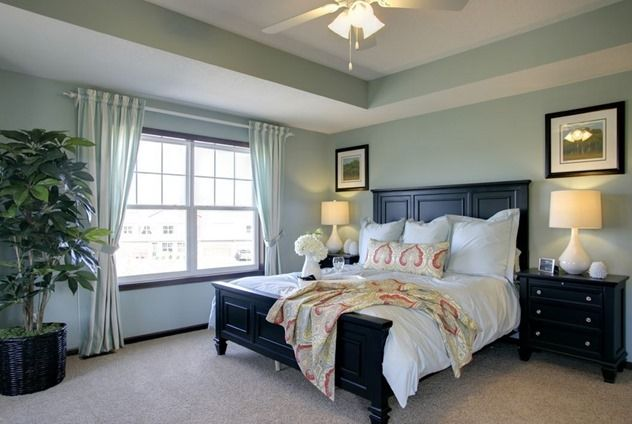 Paint Color Sherwin Williams Quietude Sw 6212 Possible Master Bedroom Bedroom Ideas