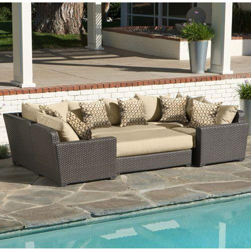 Endura 6 Piece Modular Seating Set Costco Patio Furniture