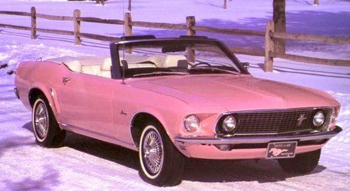 "…we could ride in a pink mustang…  ~ Tori Amos  ""Mary"""