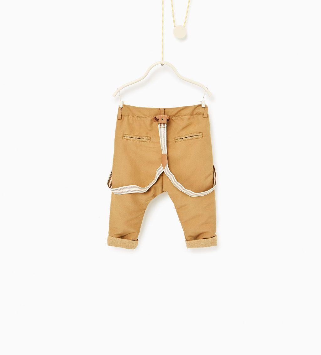 gran descuento venta barato mejor valorado alta moda Image 2 de Pantalon à bretelles de Zara | NIÑOS | Moda para ...
