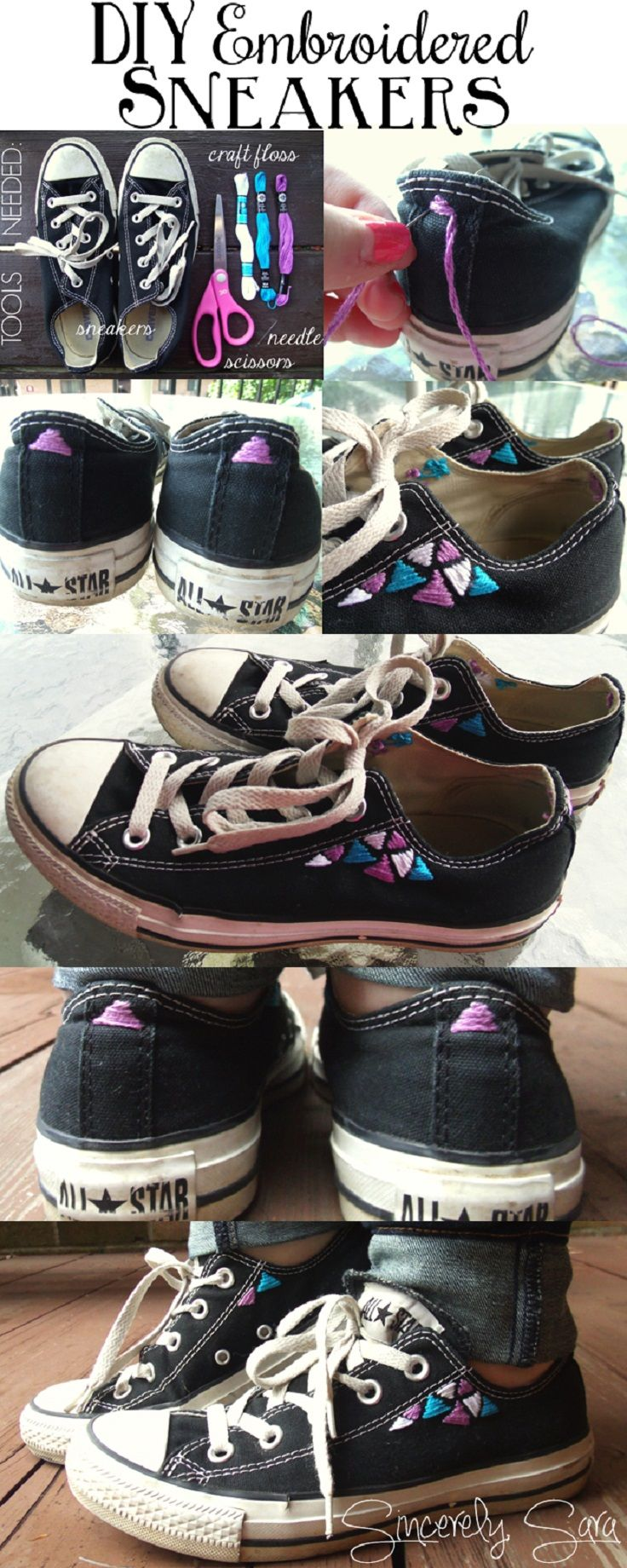 Makeovers Old For Your Converse Pinterest 10 Diy Top XpqEAE