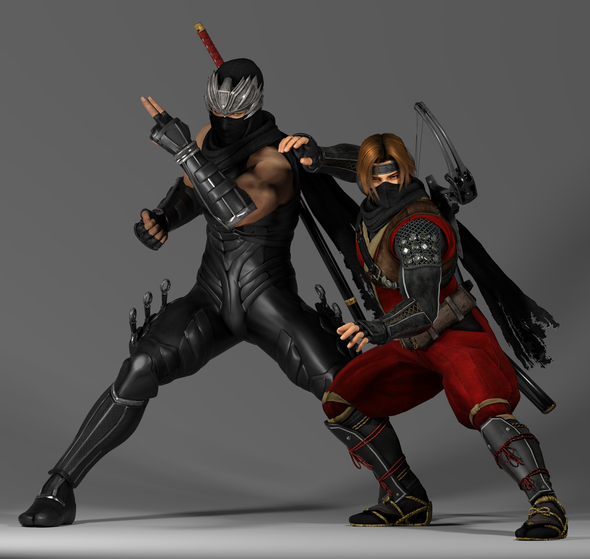 Dead Or Alive Tag Team Ryu And Hayate By Sabishikukage D8qml0e Png 1900 1800 Tag