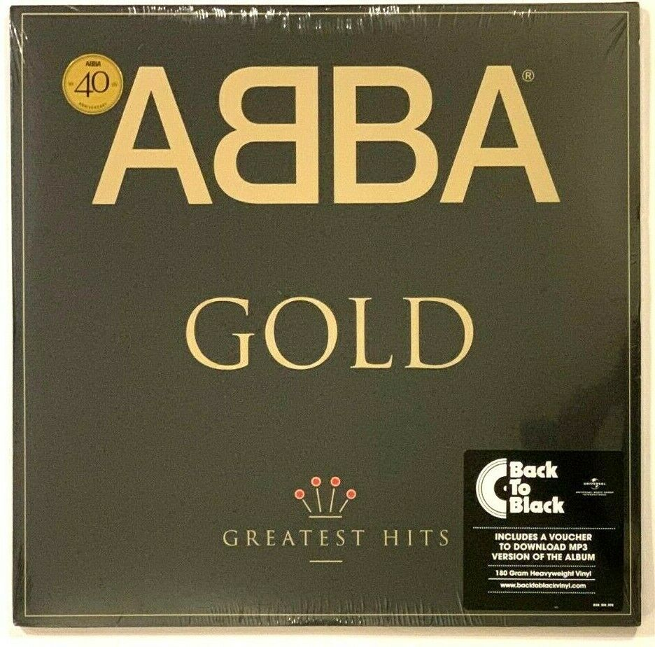 Details About Abba Gold Greatest Hits Lp Vinyl Record Album