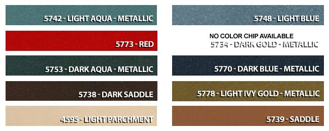 Mustang How To Decoding Swatches More Mustang Interior