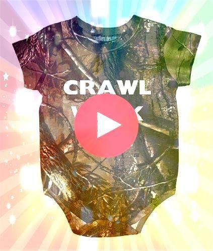 Walk Fisch Realtree Camo Baby Ganzkörperanzug  Jagd Babykleidung Southern De   When I have kids Crawl Walk Fisch Realtree Camo Baby Ganzkörperanzug  Jagd Babykl...