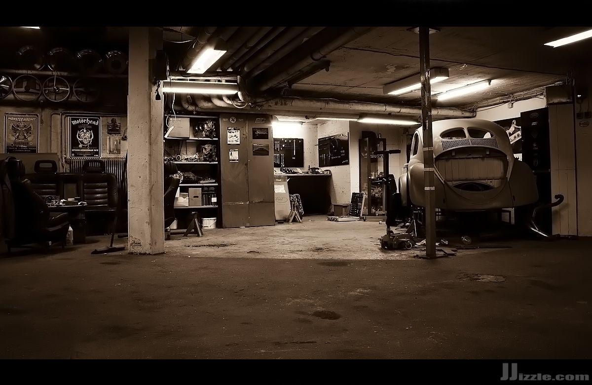 Retro Garage Man Garage Garages Garage