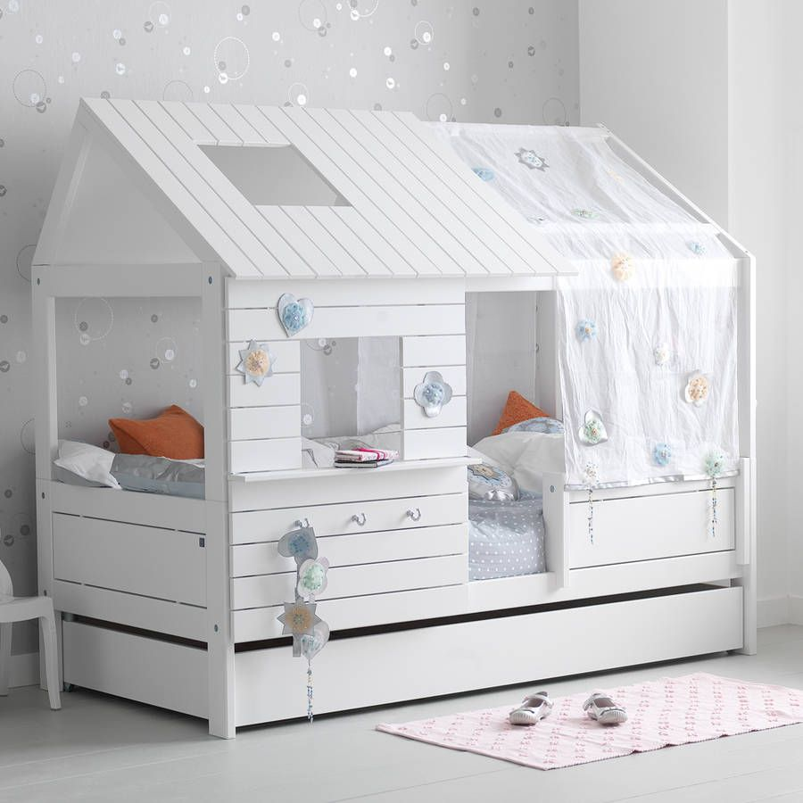 Silversparkle Low Hut Childrens Bed