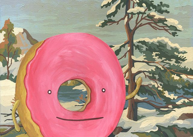 Frosty the Donut by Dan Goodsell
