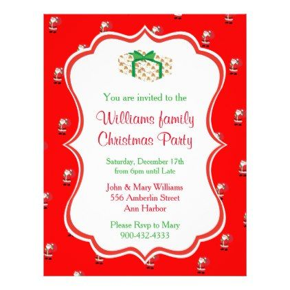 Christmas Party Invitation Flyer Party invitations and Party gifts - christmas luncheon flyer