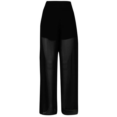 Rock and Rags | Rock Sheer Palazzo Trousers | Ladies Tights and Leggings