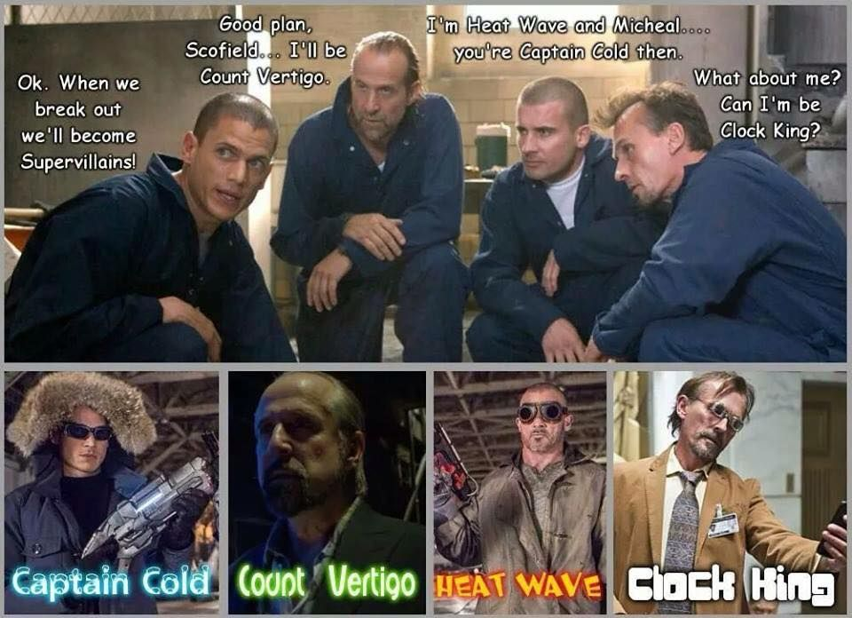 Captain Cold Heatwave Tumblr Dcs Tv Series In 2019 Prison