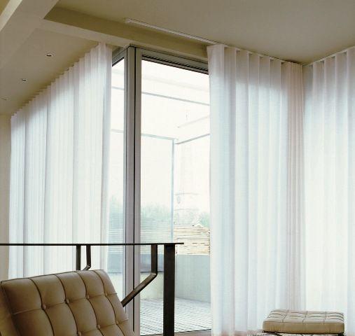 Ceiling Curtain Tracks Loft Window Treatments Curtains Curtain