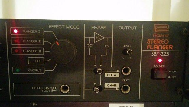 MATRIXSYNTH: Roland SBF-325 Stereo Chorus Flanger