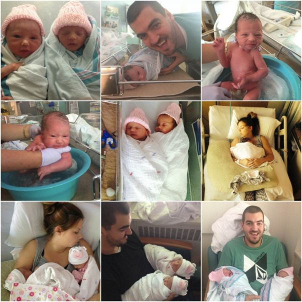Life With Twins: The First Two Weeks Part 1 - The Hospital ...