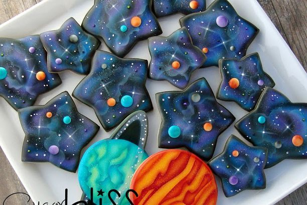 SugarBliss Galaxy,  a post from the blog SugarBliss Cookies on Bloglovin'