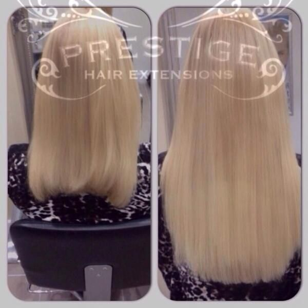 Blonde Double Drawn Russian Standard Prestige Hair Extensions