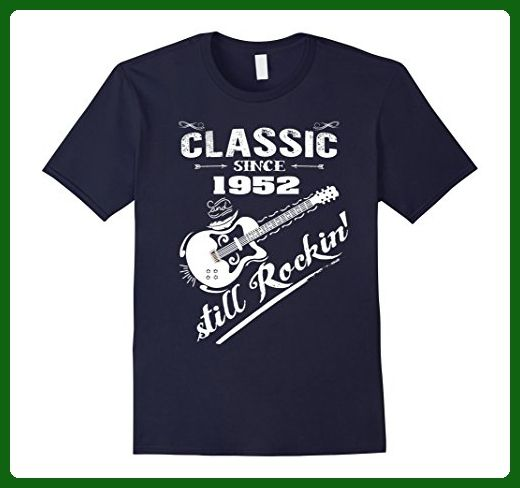 Mens Vintage Classic Since 1952 T Shirt 65th Birthday Gifts Medium Navy