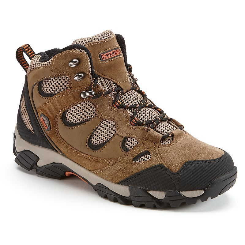 Pacific Trail Sequoia Light Mid Men's Hiking Boots, Size: medium (10.5), Lt Brown