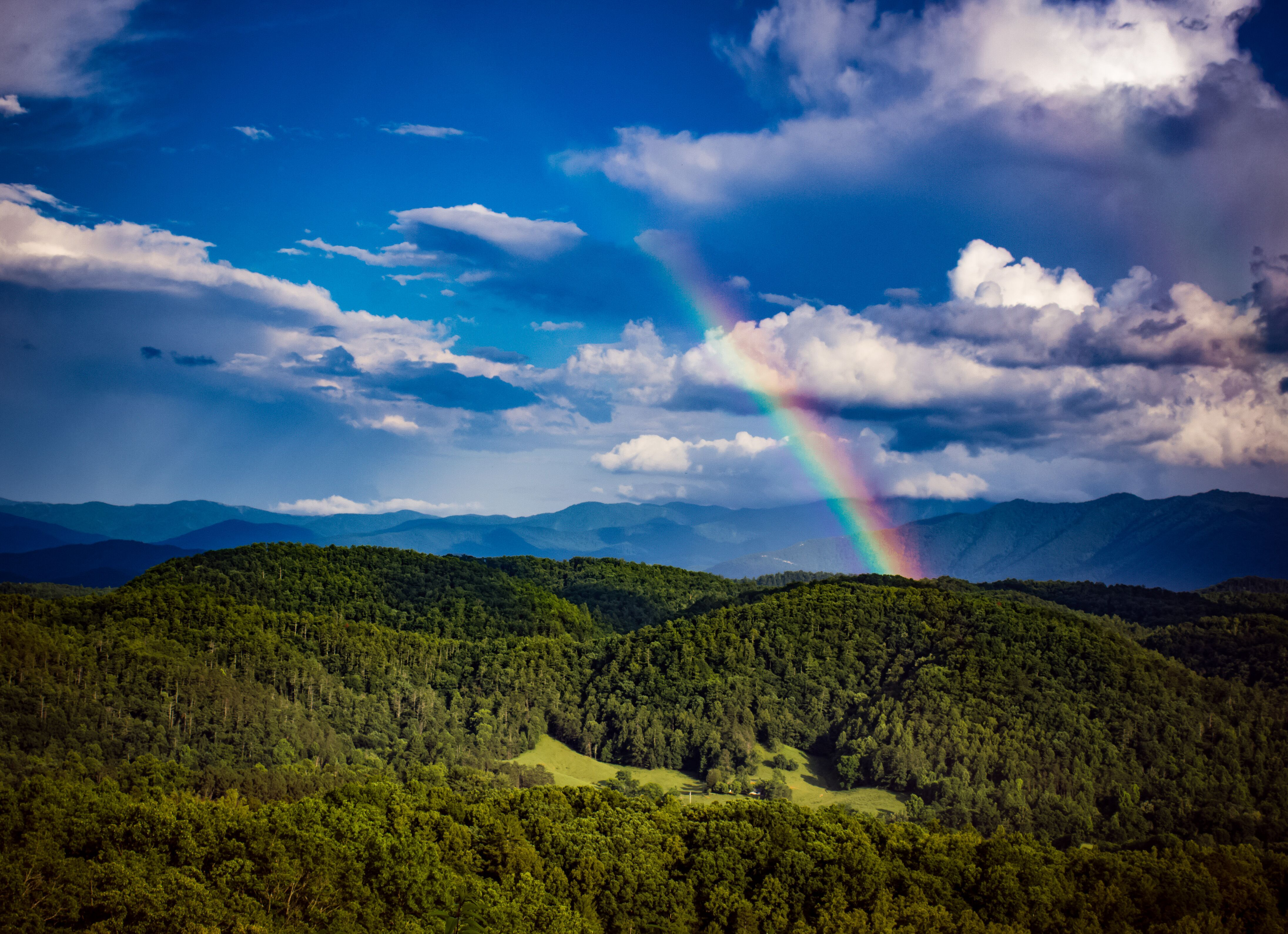 The Smoky Mountains Is The Pot Of Gold At The End Of This Rainbow