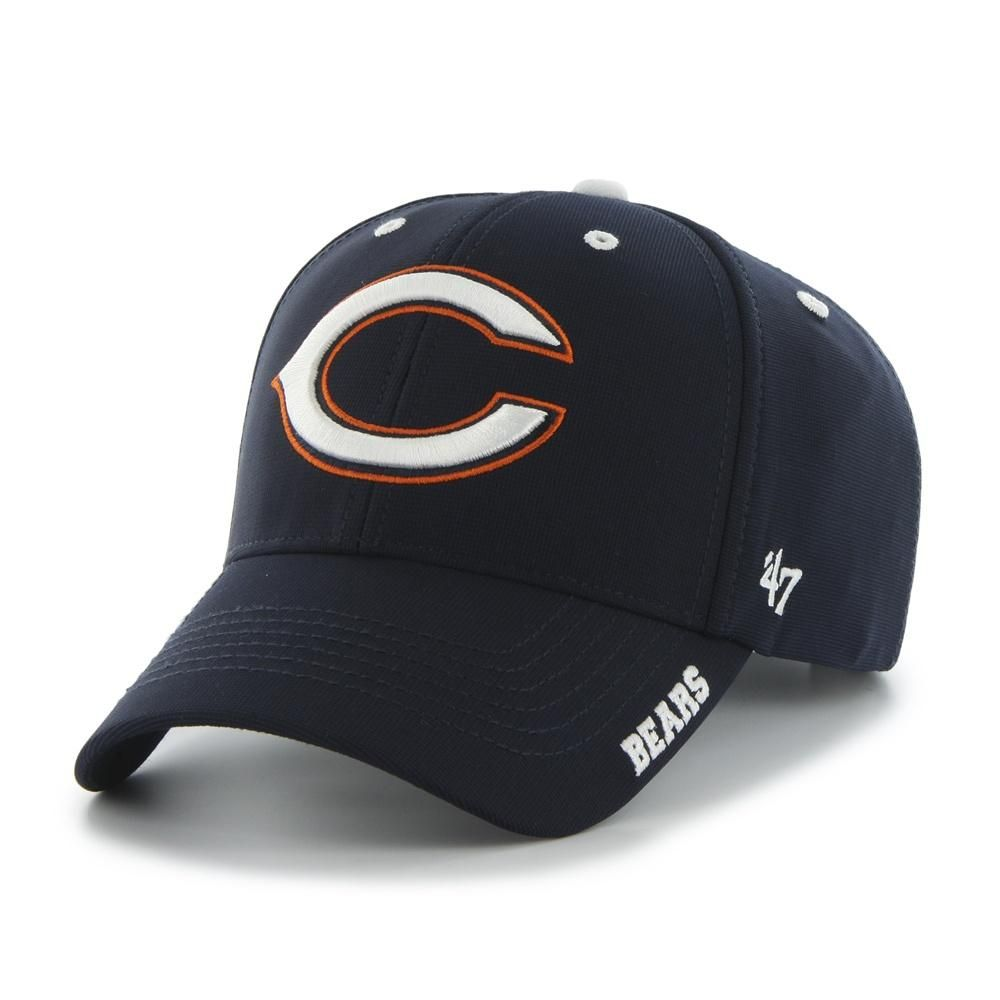6c09fc86c Mens Chicago Bears Condenser Mvp Adjustable  47 Brand Hat